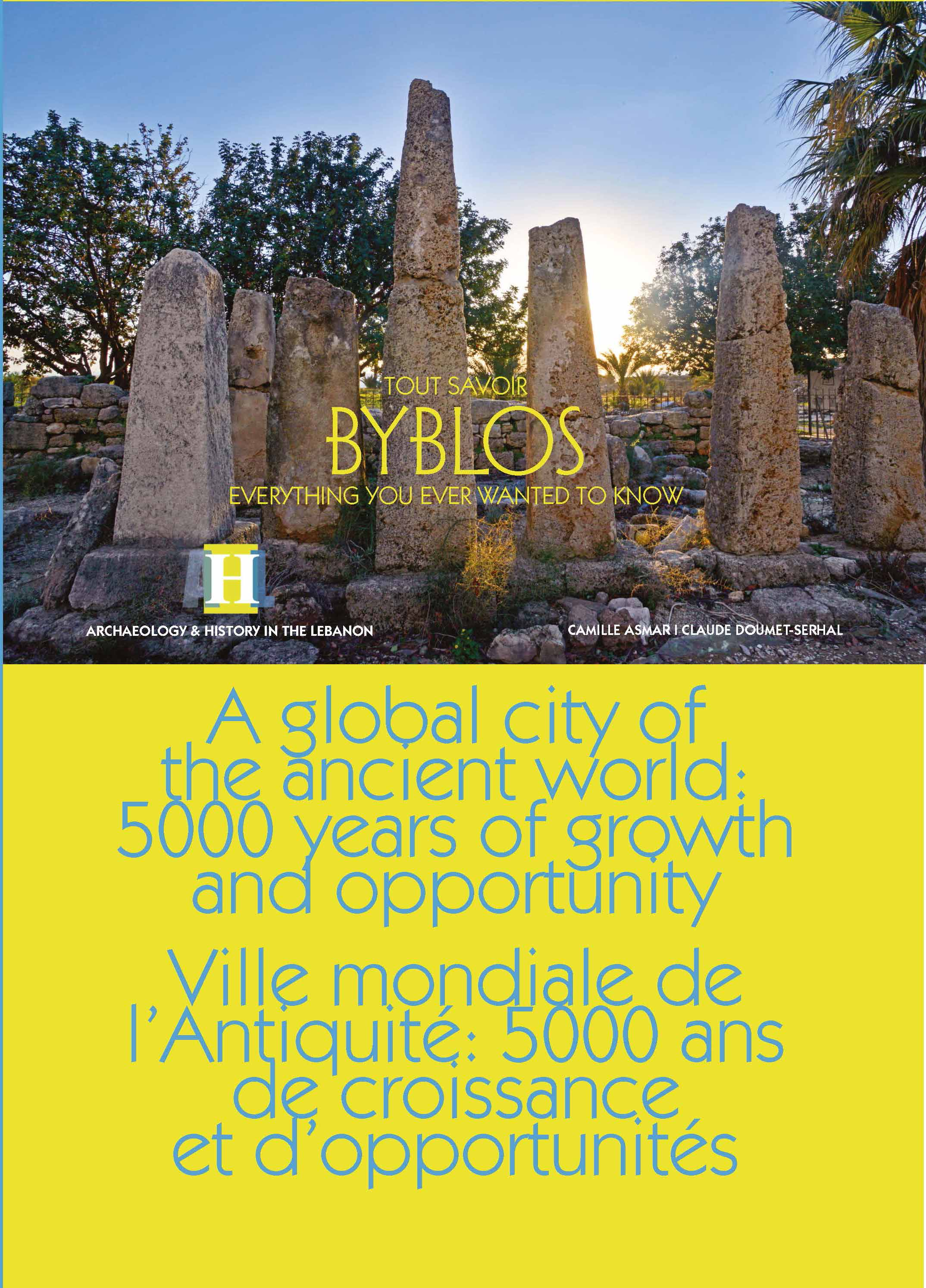 AHL Byblos the guide cover Page 1